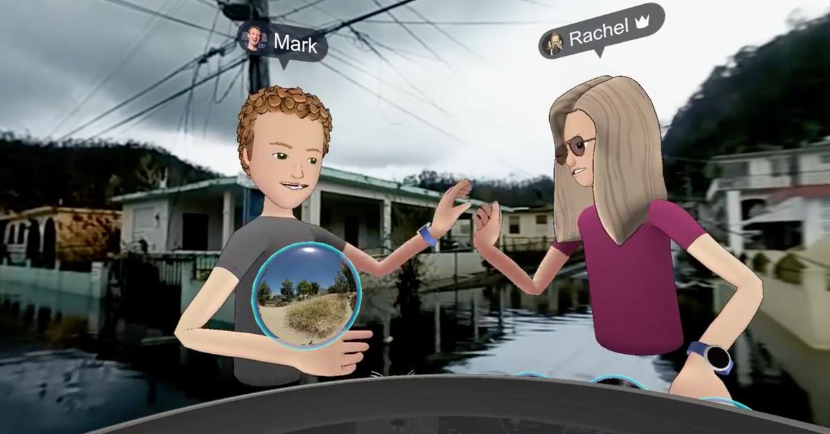 Samsung Vr Games >> A cartoon Mark Zuckerberg toured hurricane-struck Puerto Rico in virtual reality - The Verge