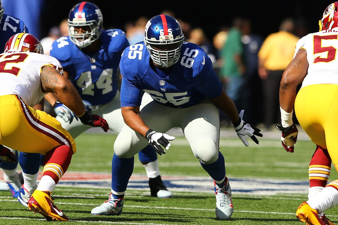 Giants re-sign offensive tackle Will Beatty