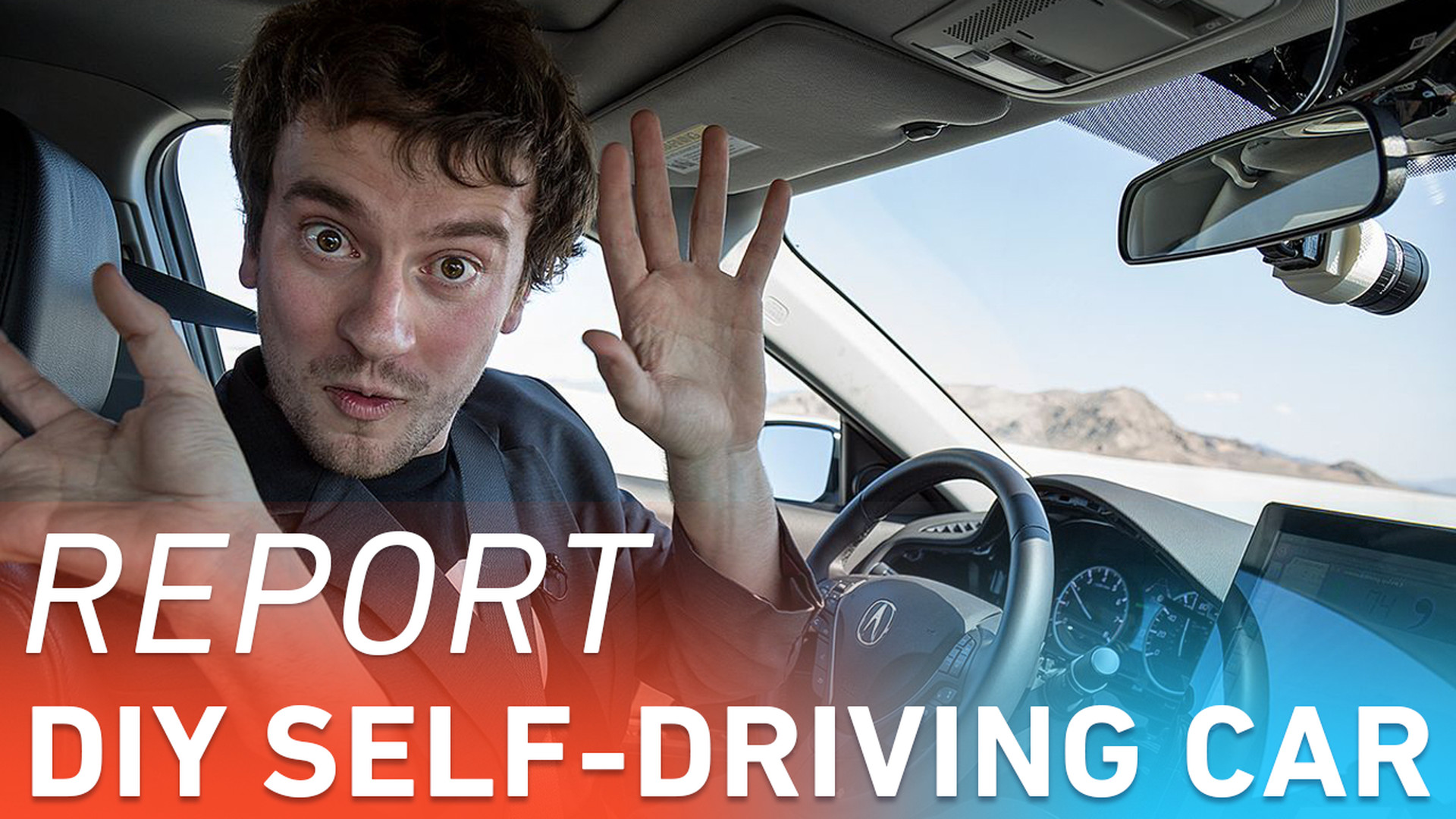 On the road with George Hotz's $1,000 self-driving car kit | The Verge