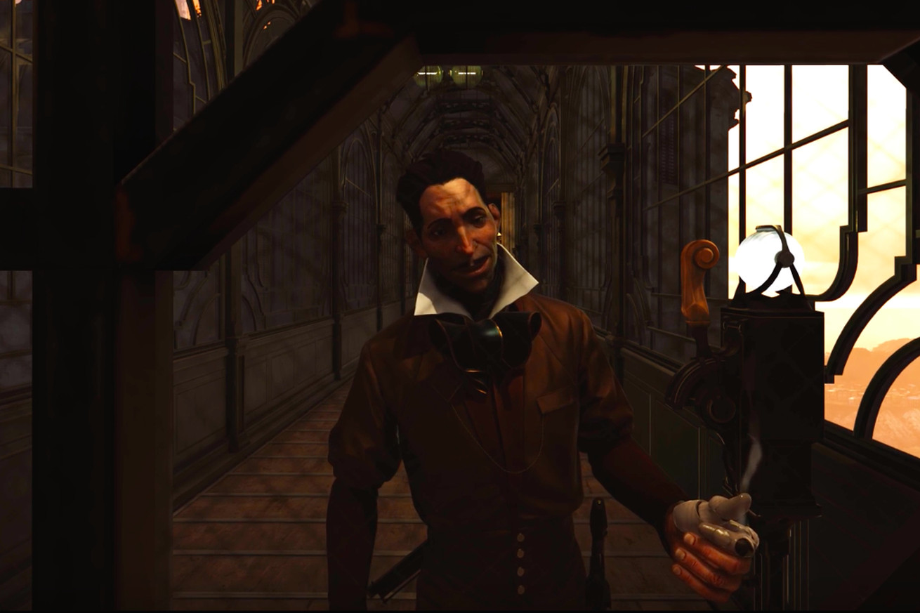 wow dishonored 2 sure does have a lot of ways to kill this one guy
