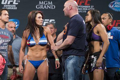 UFC 178 weigh-in photos