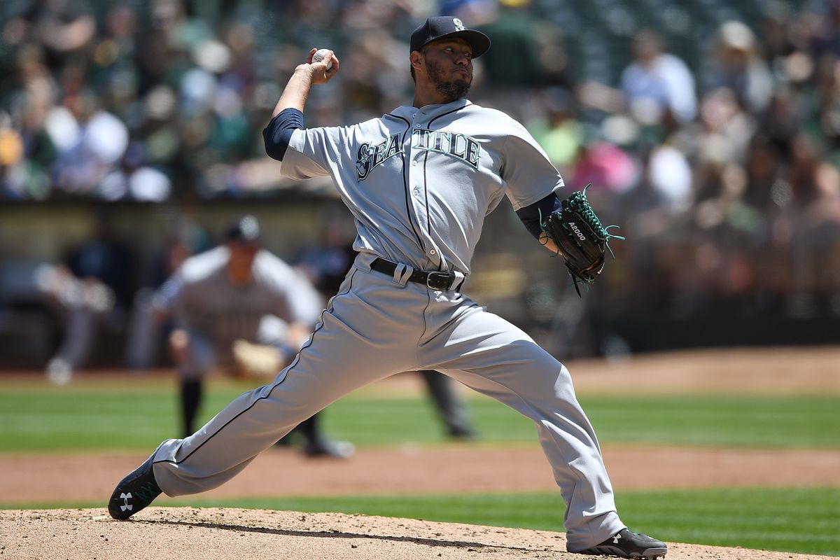 Valdez makes first start in nearly seven years, A's win