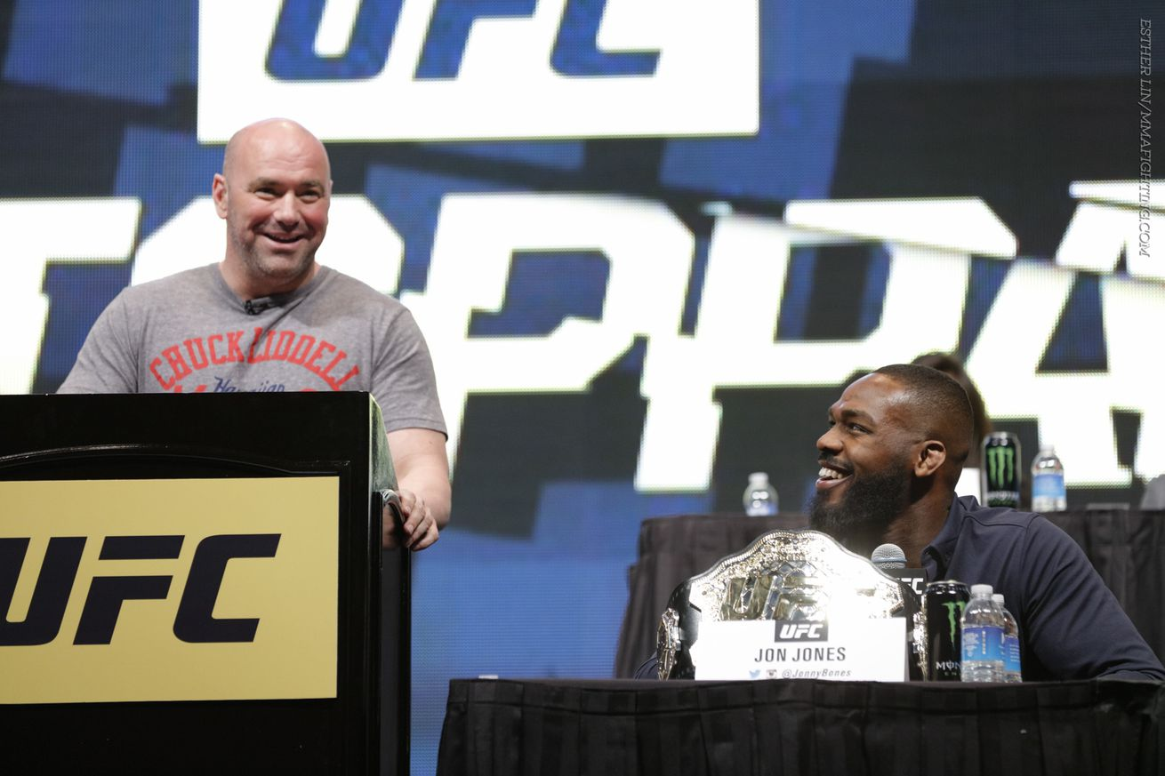 community news, Morning Report: Dana White says Jon Jones will likely get an immediate title shot upon his return from suspension