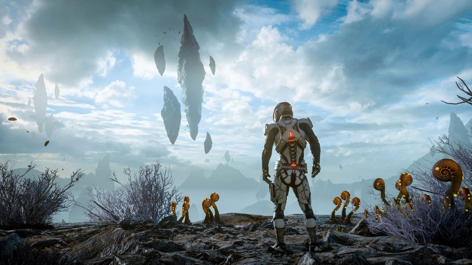 Mass Effect: Andromeda is a thrilling sci-fi drama stuck to a boring game