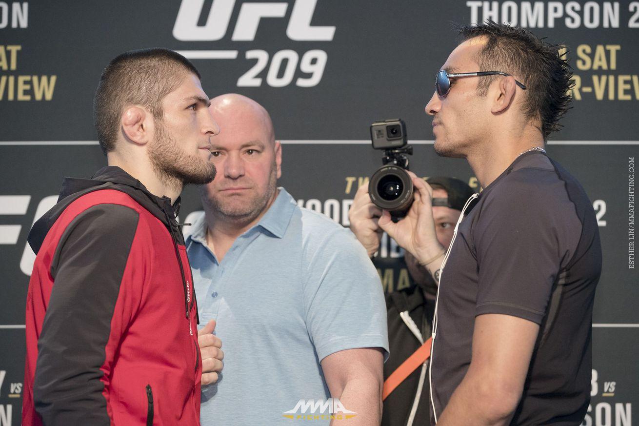 Khabib Nurmagomedov vs. Tony Ferguson canceled day before UFC 209