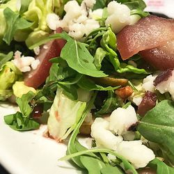 Drunken Pear Salad