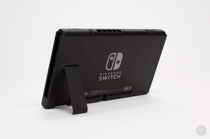 Nintendo Switch back angle photo