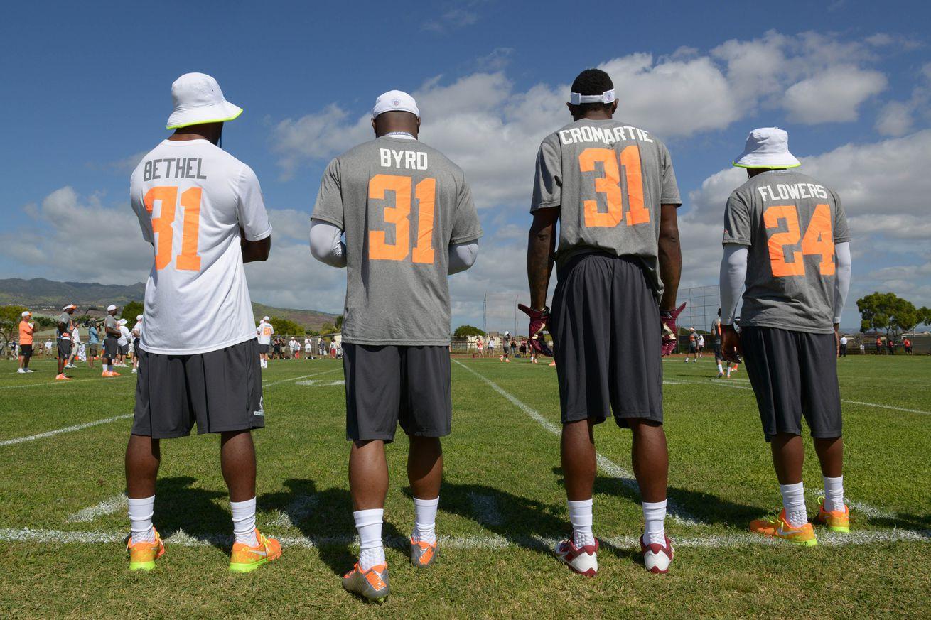Cheap NFL Jerseys NFL - Antonio Cromartie gets his 31; Justin Bethel to wear 28 - Revenge ...
