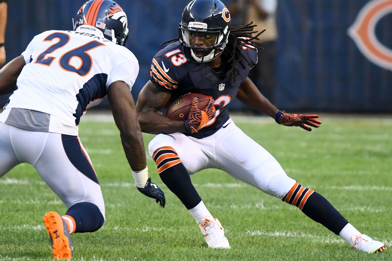 Bears will finally get Kevin White on the field today