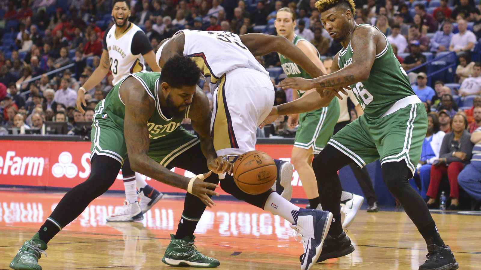 Boston Celtics can't get the last minute victory, lose to New Orleans Pelicans 106-105 - CelticsBlog