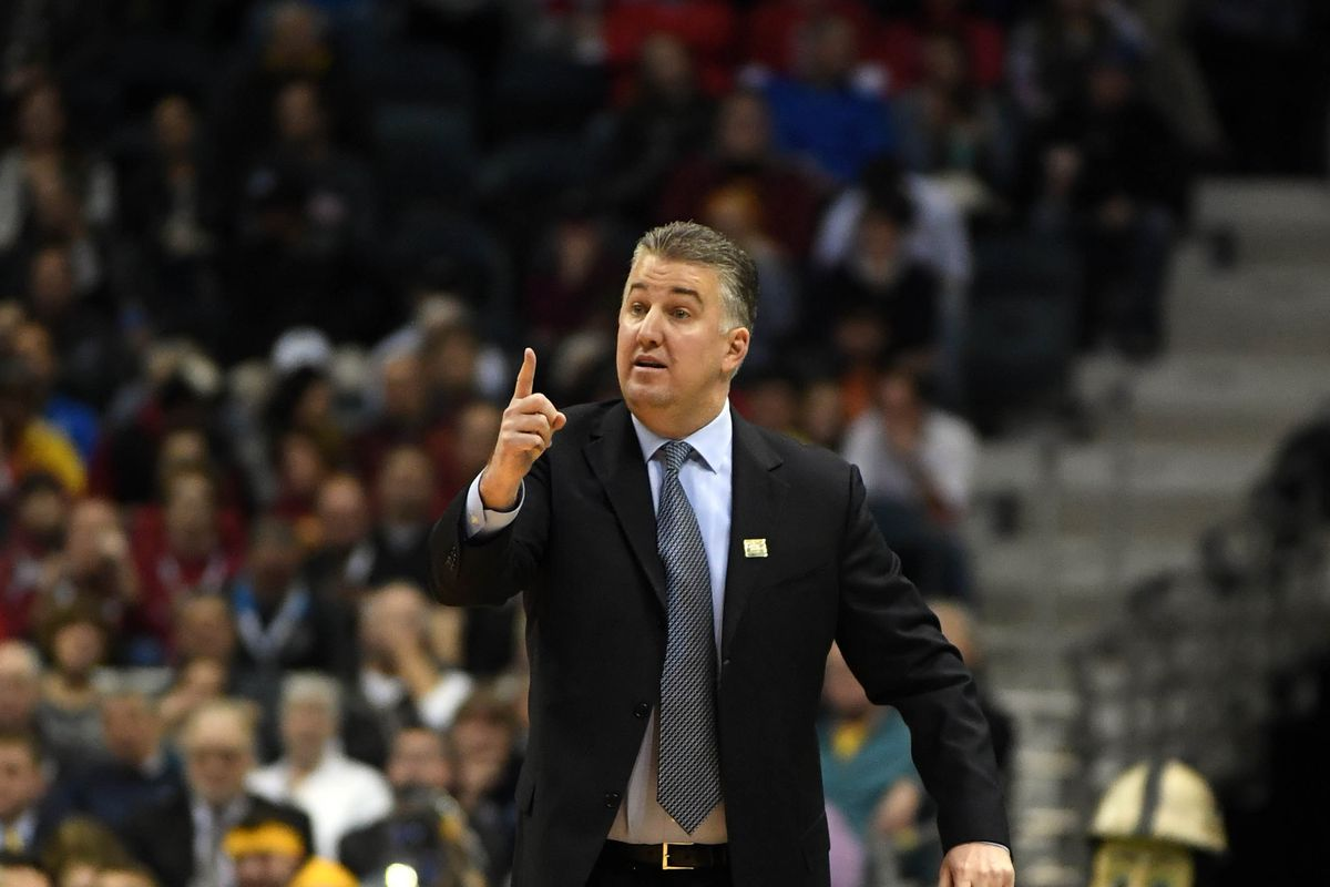 Coach Painter tells the national media where they can stuff their way too early rankings.        James Lang-USA TODAY Sports