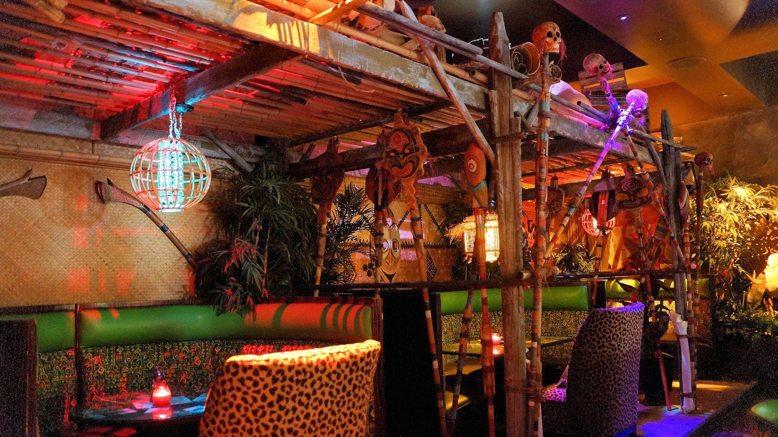 The Golden Tiki Luaus Its Way Into A Pupu Menu Eater Vegas
