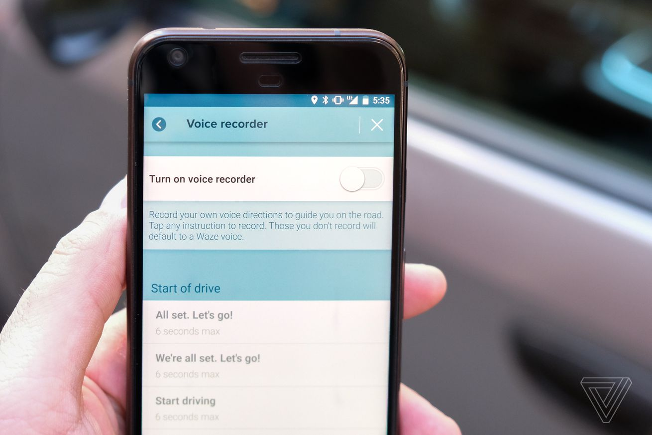 Waze now lets you record your own turn-by-turn audio