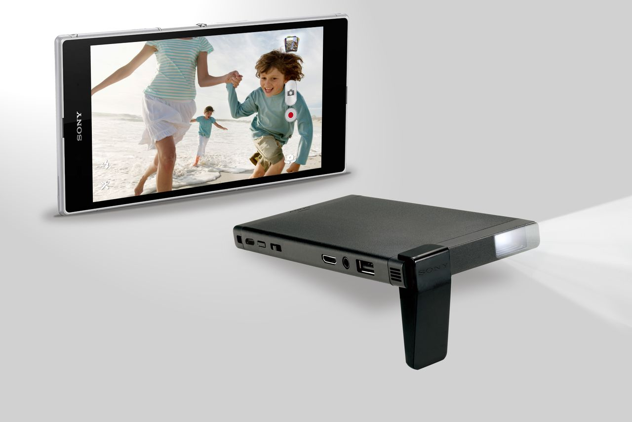 Sony 39 s portable laser projector is everything i loved for Best portable laser projector