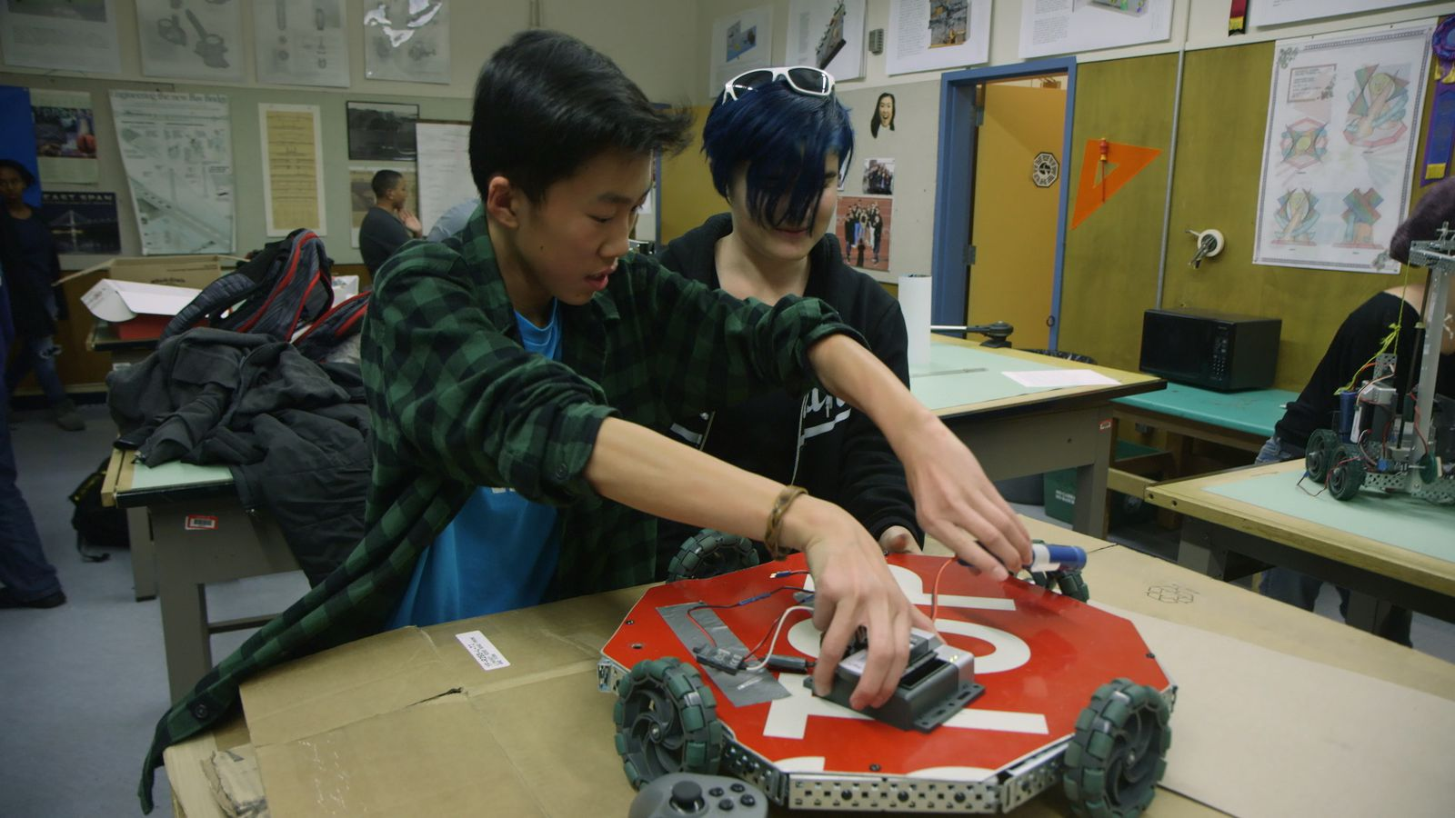 photo image This Oakland high school robotics club should be the future of a more diverse tech industry