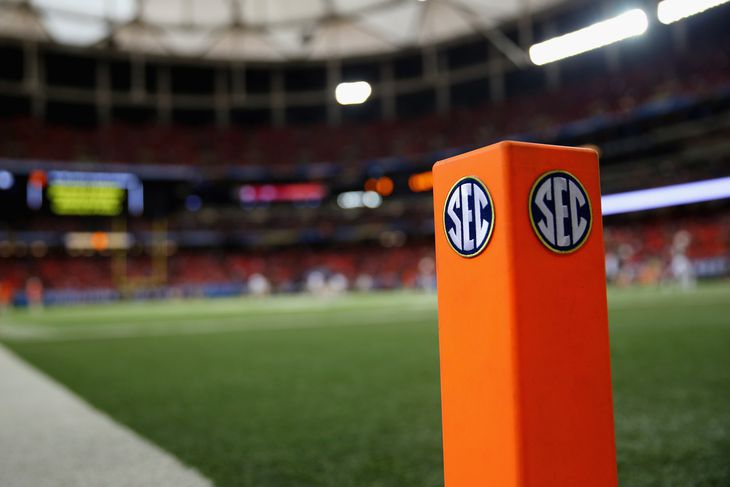 SEC Football - cover