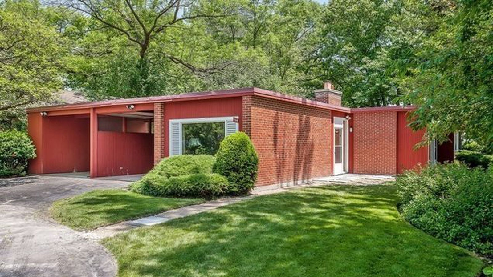 1950s Keck Amp Keck Ranch Home In Glencoe Lists For 499k
