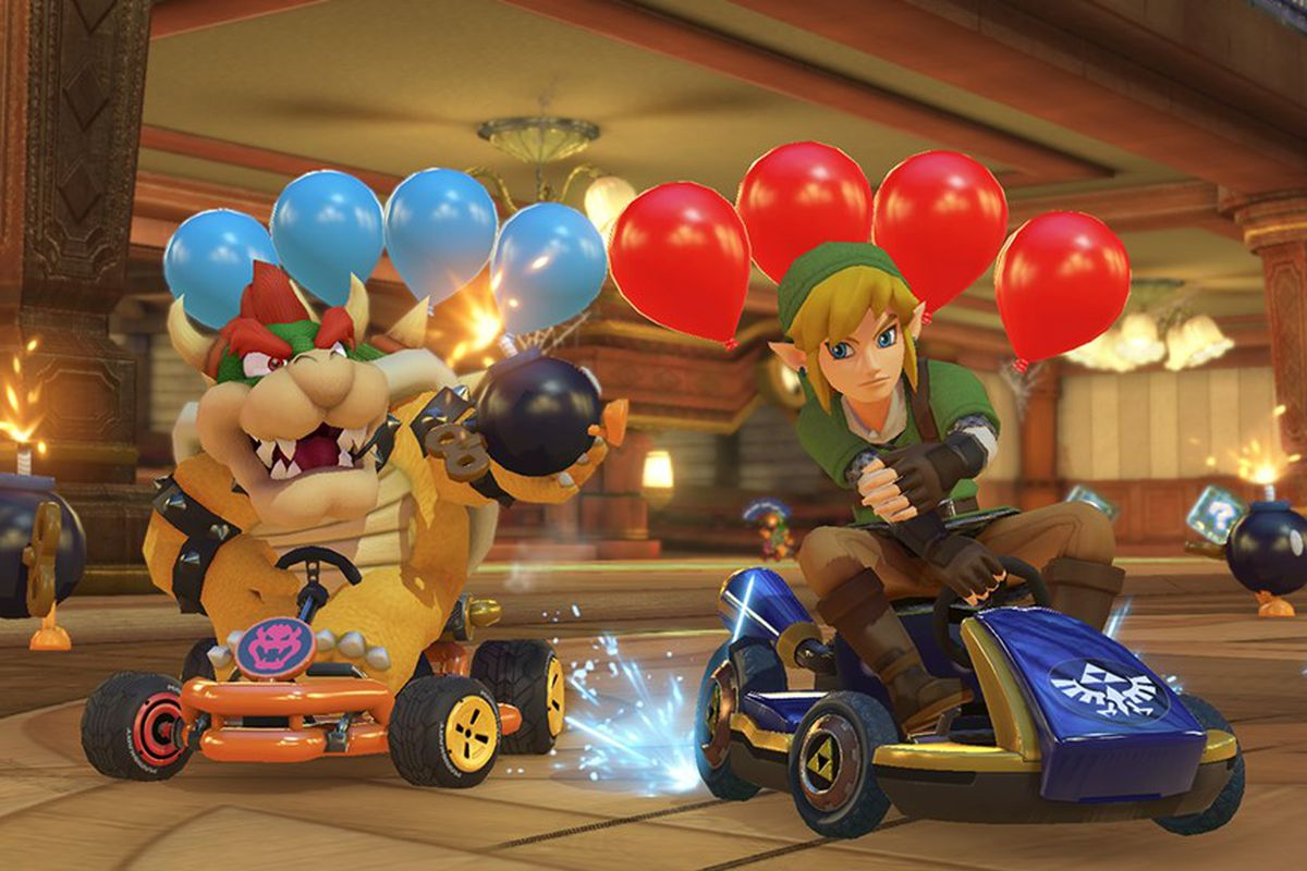 Mario Kart 8 Deluxe races to top of the sales charts