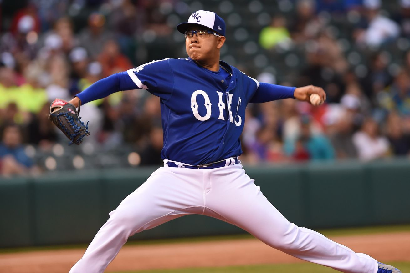Julio Urias extends scoreless streak for Triple-A Oklahoma ...