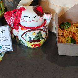 New Asian food option at White Sox games: The Wok Off.
