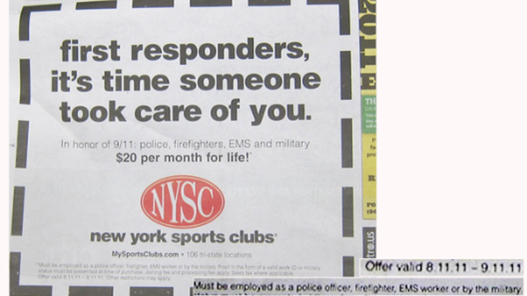 New york sports club discount coupon