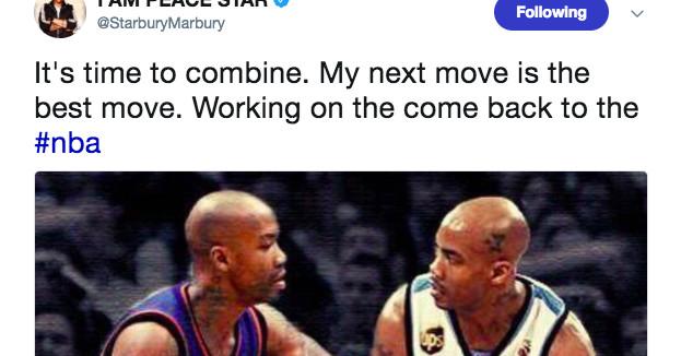 斯蒂芬马布里说他正在重返NBA