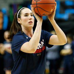 UConn's Natalie Butler<br>