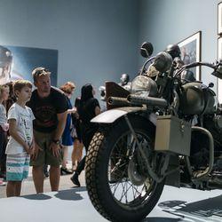 Steve Rogers' motorcycle.