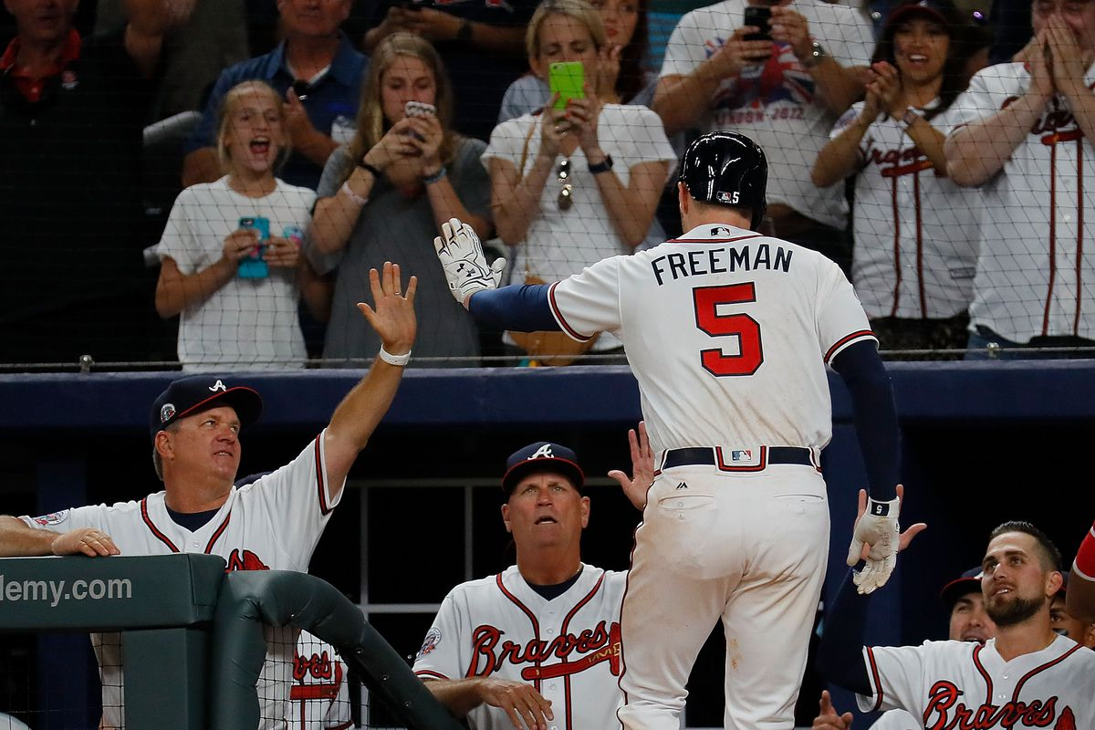Braves top Padres 4-2 as Dickey pitches in 3rd Atlanta park