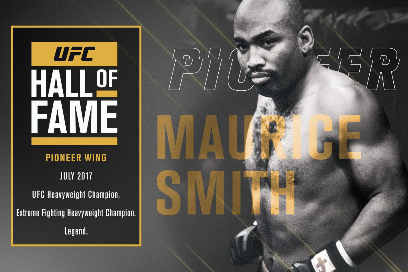 community news, Maurice Smith, the first striking specialist to win a UFC title, named to 2017 Hall of Fame class