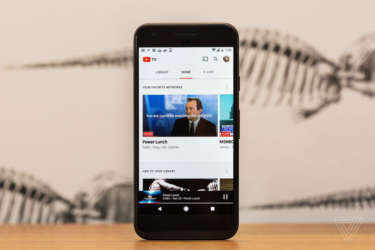 YouTube TV adds more channels to its service