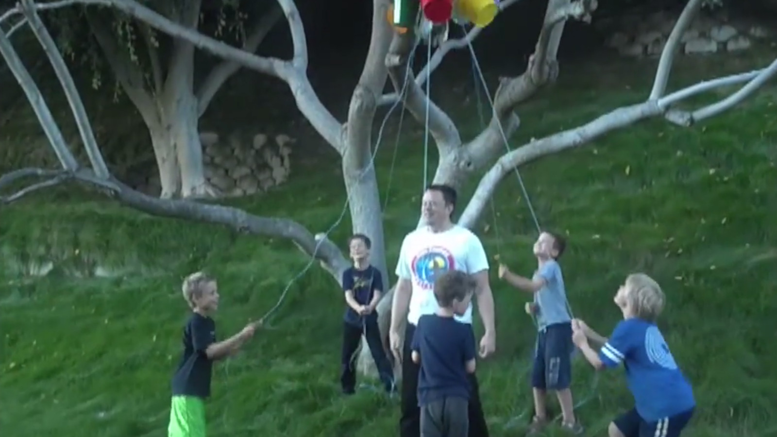 Elon Musk Enlists His Five Sons To Help Complete The Ice