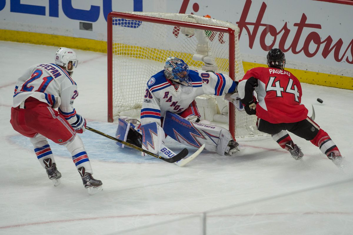 Sens rally to beat Rangers in 2OTs