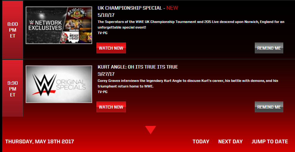 WWE's U.K. Championship Special Will Air This Week