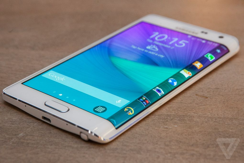 the galaxy note edge is a flagship phone with an entirely new kind of curved display the verge