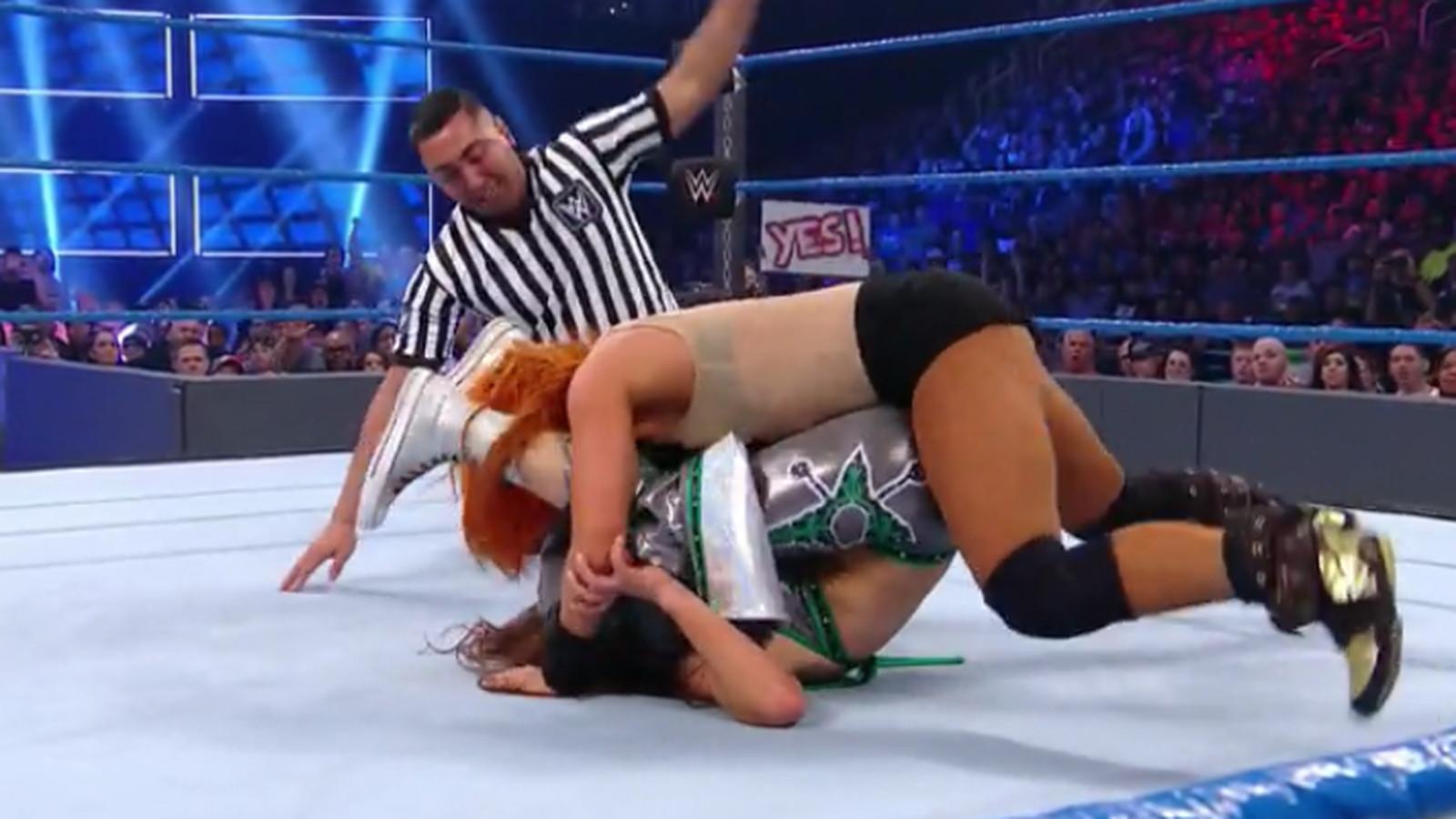 WWE Elimination Chamber 2017 results: Becky Lynch pins Mickie James