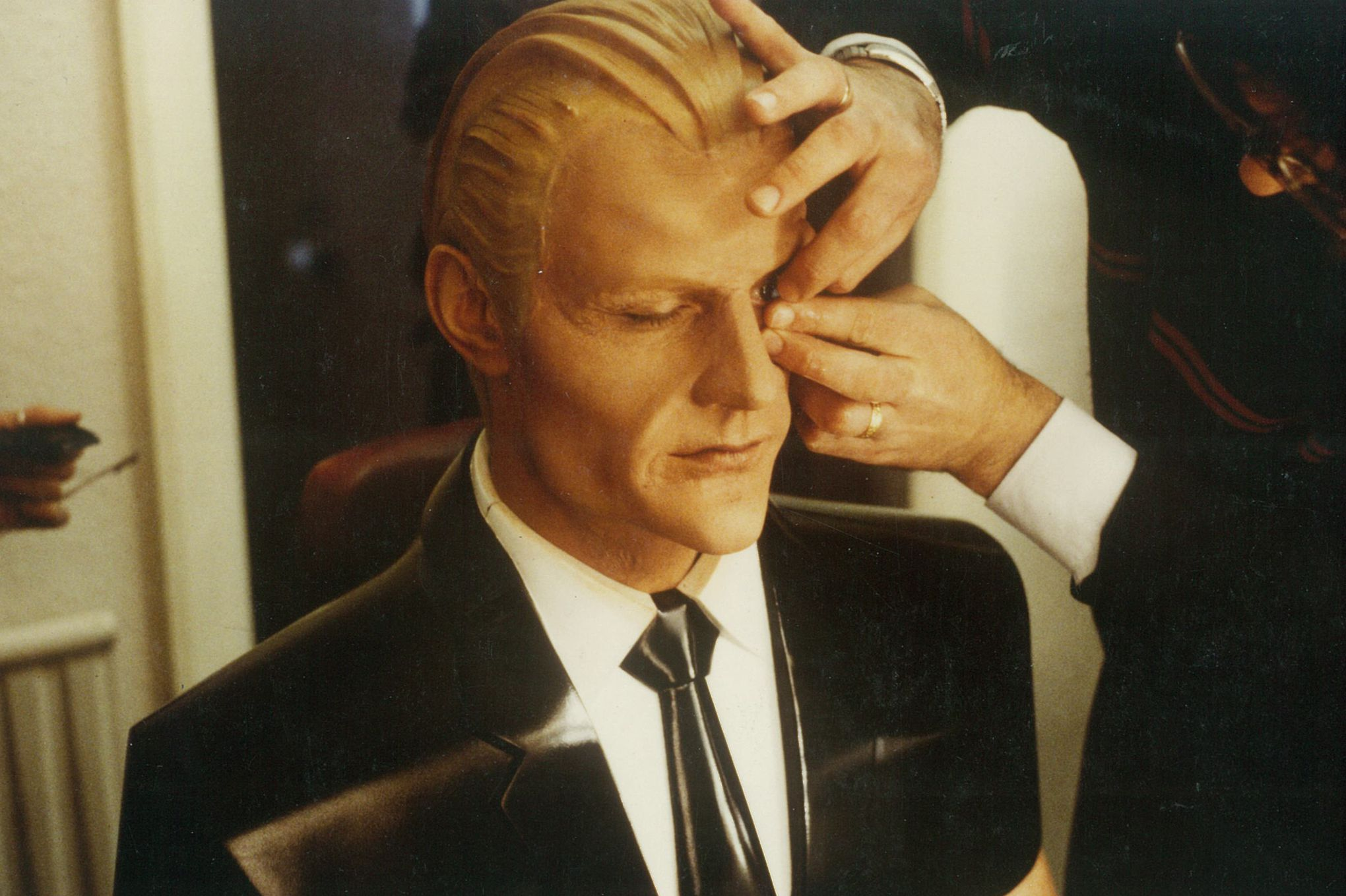 max headroom the definitive history of the 1980s digital icon max headroom make up and design images