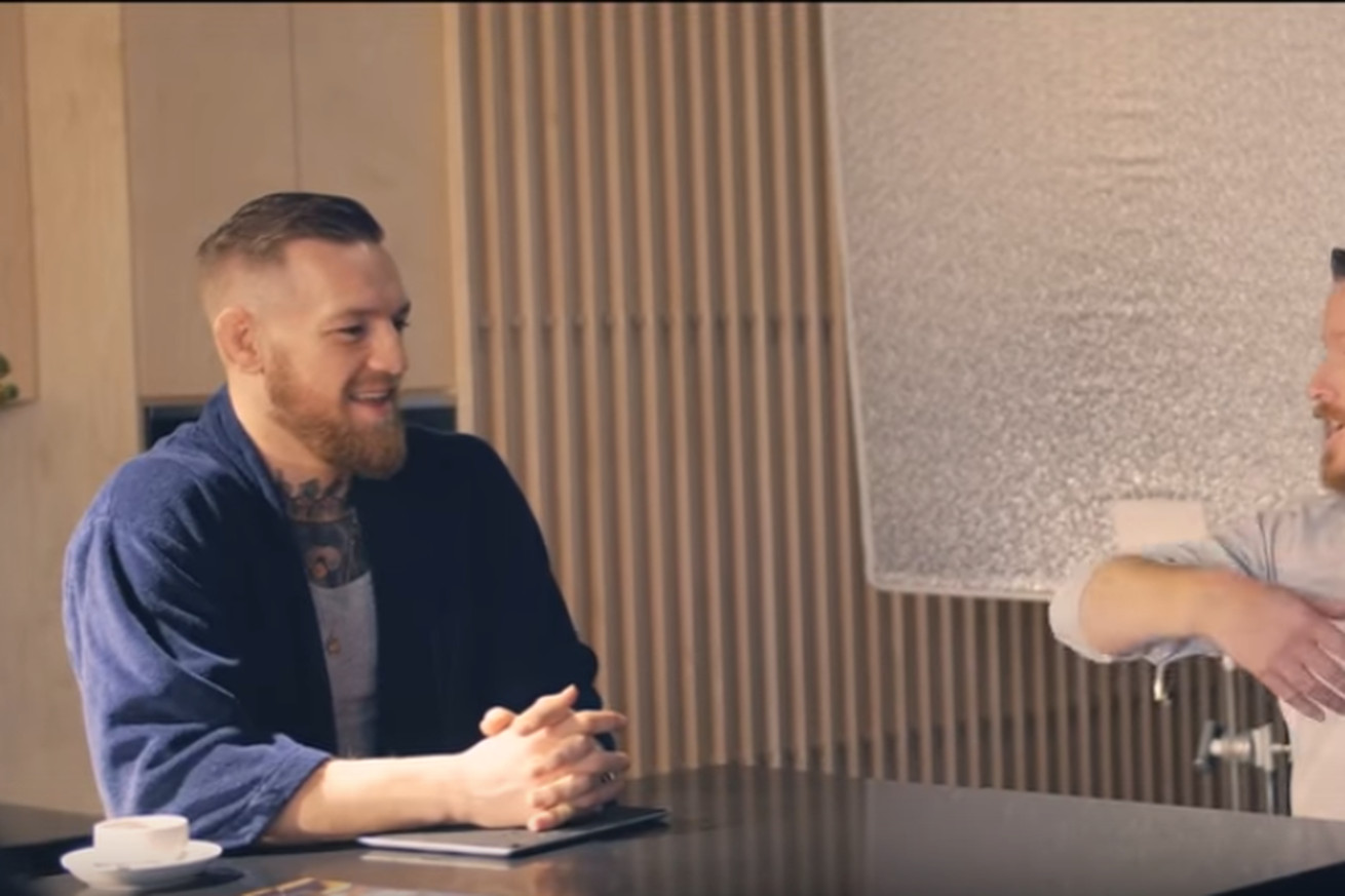 community news, Video: Conor McGregor on the set of Marvel's Iron Fist commercial