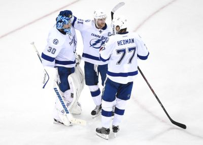 NHL: Stanley Cup Playoffs-Tampa Bay Lightning at New York Rangers