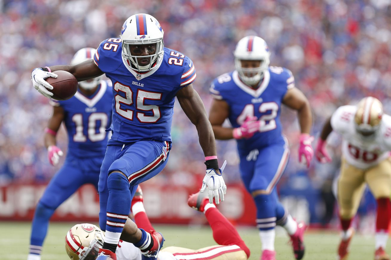 Is LeSean McCoy healthier than we originally thought?