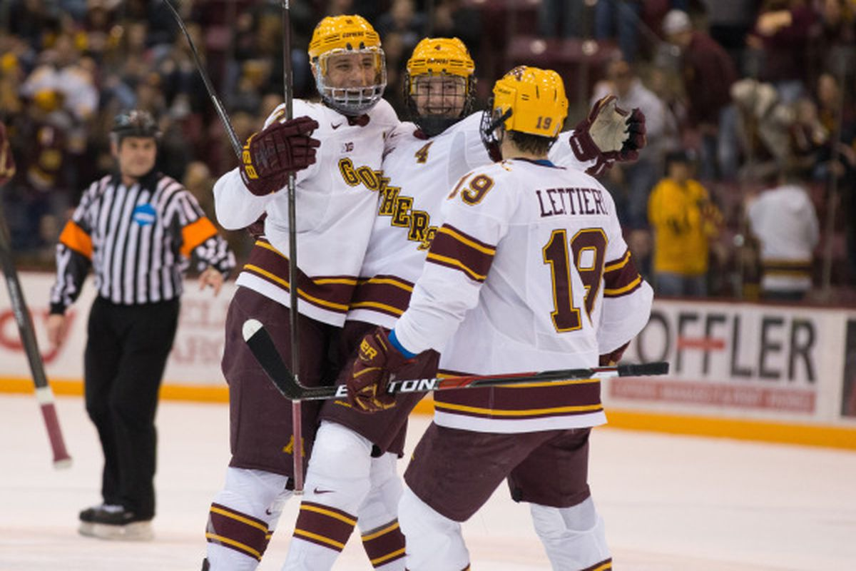 Gophers men's hockey scores No. 1 seed in NCAA tournament