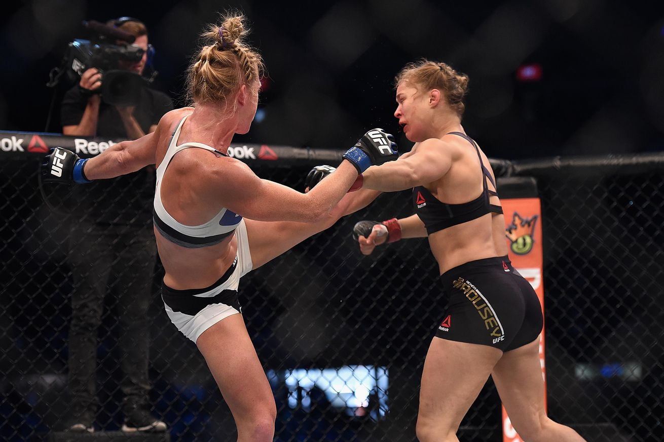 UFC refuses to replay Holly Holm's historic knockout of Ronda Rousey in UFC 208 'Top 8 Finishes' video
