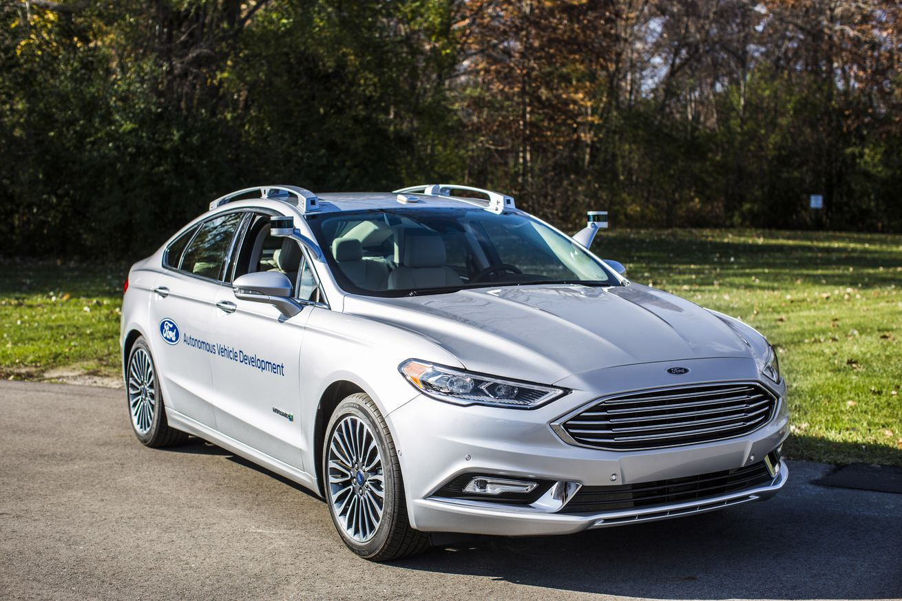 Ford's new autonomous Fusion looks freakishly normal