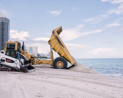 Sand Dump Truck