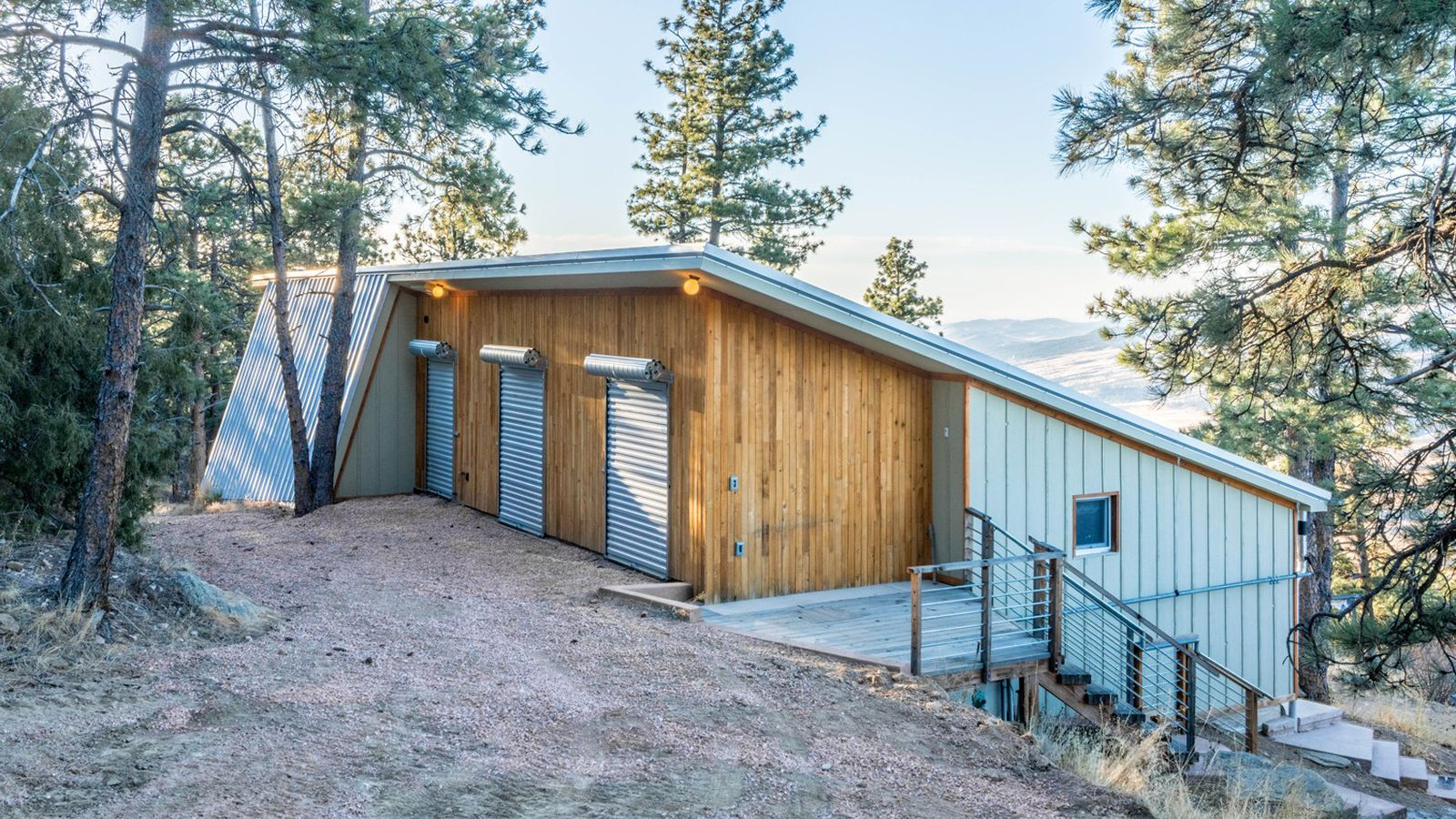 Off grid passive house runs entirely on solar in colorado for Colorado house