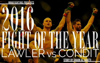 MMA Fighting's 2016 Fight of the Year: Robbie Lawler vs. Carlos Condit