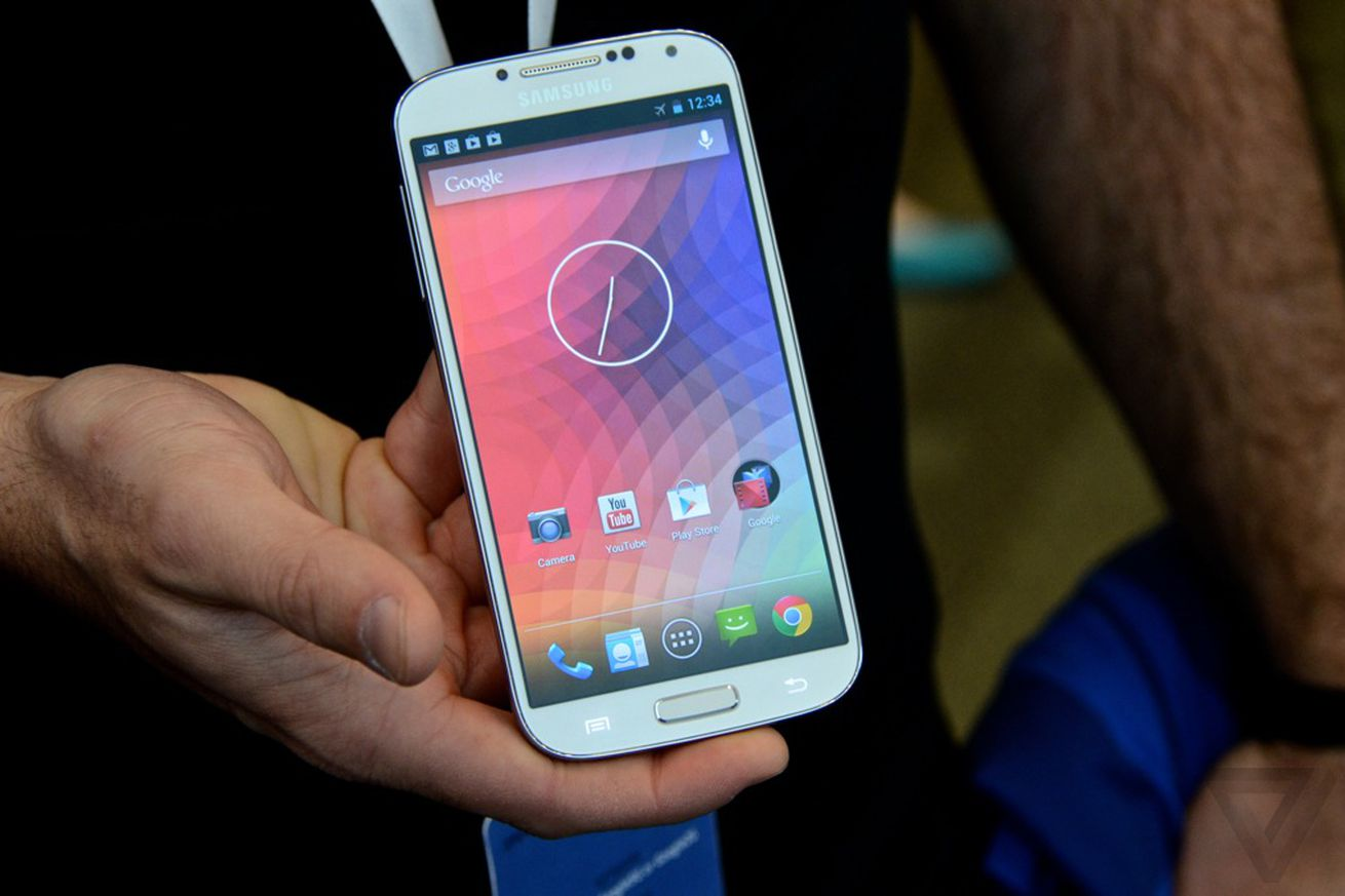 Phone Pure Android Phones this is the new nexus a first look at samsungs galaxy s4 with stock android verge