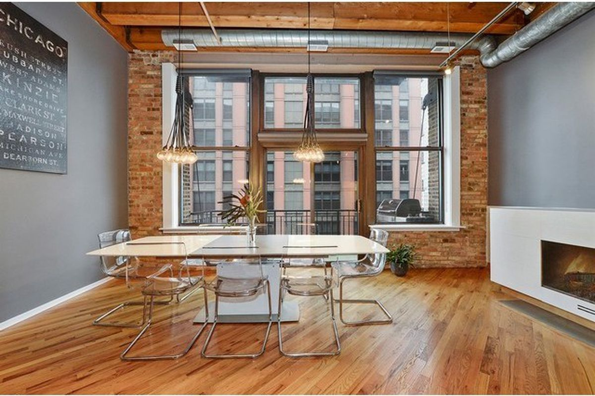 Nicely Finished West Loop Timber Loft Seeks 495k Curbed