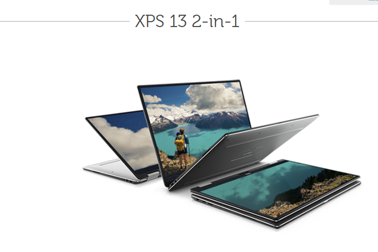 Dell is making a convertible 13-inch XPS laptop with its edge-to-edge display