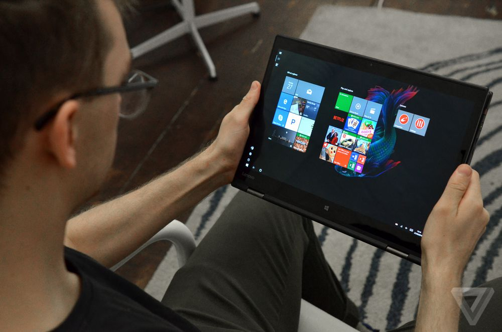 Lenovo ThinkPad X1 Yoga review tablet